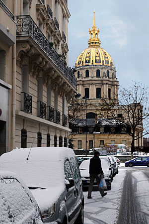 Photographier par grand froid les invalides