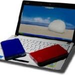 Note-book Assus et disque dur de sauvegarde