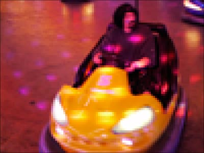 Photo numérique pixels et résolution : auto tamponneuse carreaux 1x1 cm