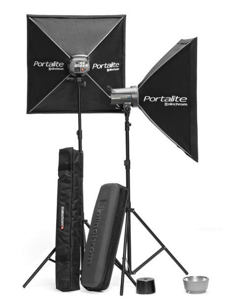 Kit flash de studio Elinchrom