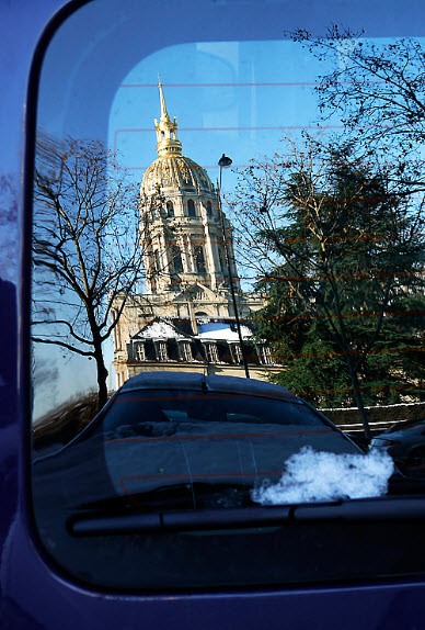Reflet, les invalides - Paris 75007.