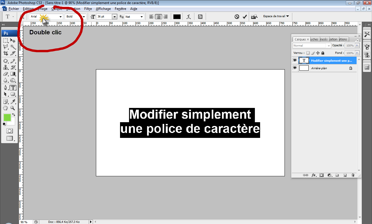 telecharger des polices sur photoshop