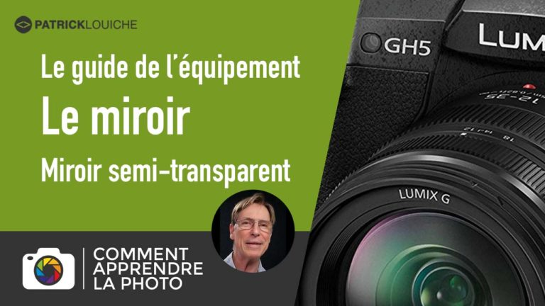 Miroir semi-transparent